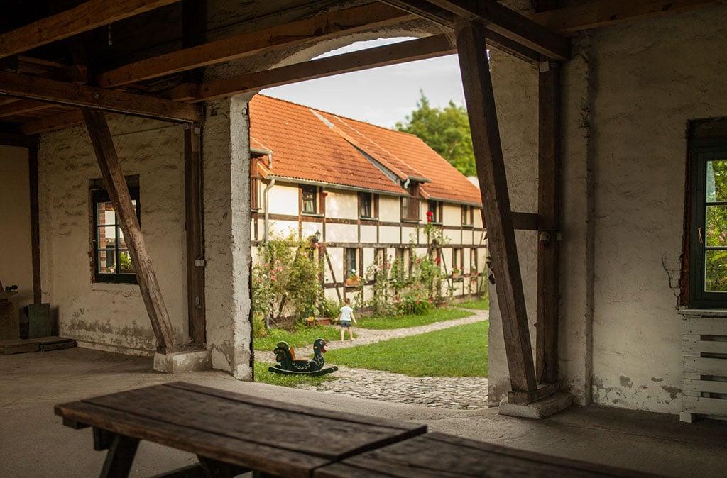 Hof Ferienwohnungen 2 Hochzeitsscheune Hochzeit Scheune Location ZaZa Brandenburg